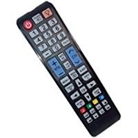 Replaced Remote Control Compatible for Samsung PN51E450A1FXZA LT27A300 PN51F5300 UN29F4000AF UN40EH6000FXZA UN50EH6050F LED HDTV PLASMA TV