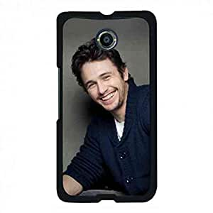 Black Famous Star James Franco Hard Phone funda Back Cover For Google Nexus 6