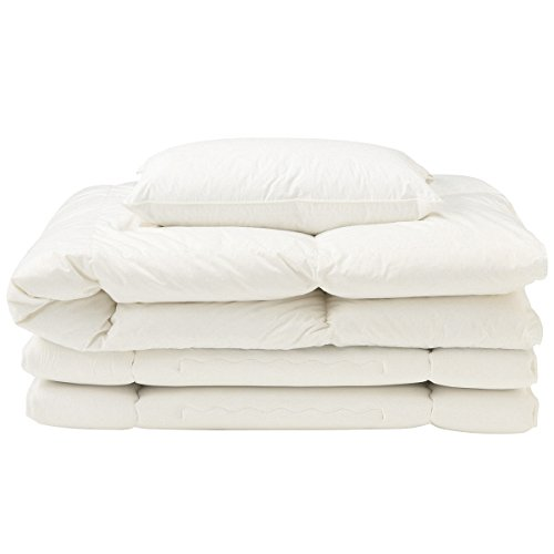 [Muji] White down quilt, Pillow and bedcolth Conformer Set from Japan