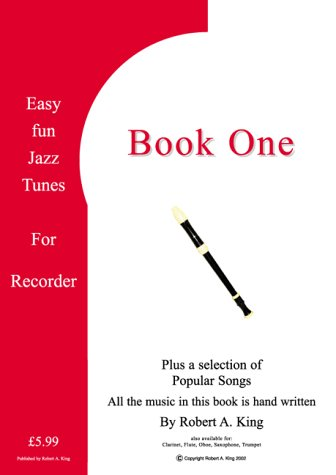 Easy Fun Jazz Tunes for Recorder: Instructional Music Theory Book
