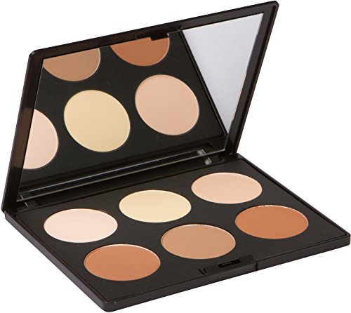 Contour Kit and Highlighting Powder Palette (Cruelty Free and Paraben Free) by Elizabeth Mott by Elizabeth Mott