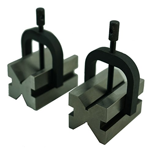 HHIP 1.61 X 1.38 X 1.77 INCH V-Block & CLAMP Set (3402-0951)