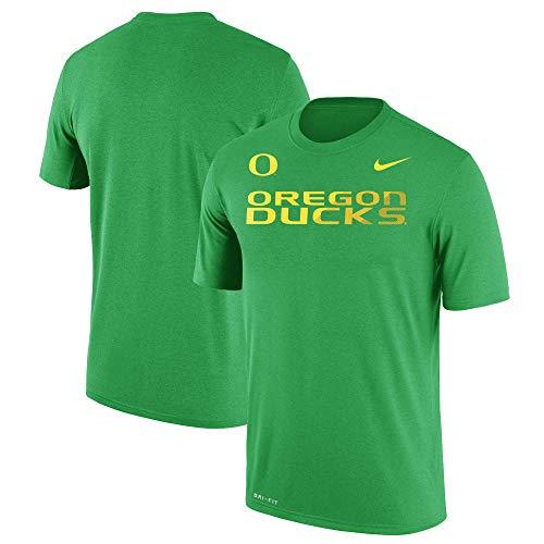 Sideline T-shirt - Nike Oregon Ducks Dri-Fit Second Season Sideline Performance Legend T-Shirt (X-Large)