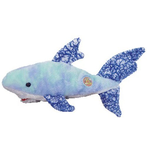 TY Beanie Baby - CHOMPERS the Shark (BBOM August 2004) [Toy]