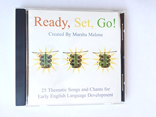 Songs Set Fun (Ready, Set, Go! A Fun Educational CD of 25 Songs and Chants to strengthen child-develpment: English, numbers, colors, shapes, and more.)