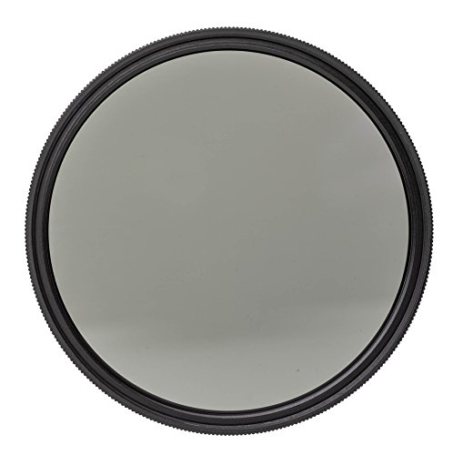 Heliopan 46mm Linear Polarizer Filter (704639) with specialty Schott glass in floating brass ring