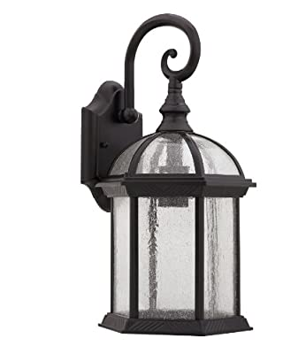 "Chloe Lighting CH21611RB19-OD1 ""Havana Divine"" Transitional 1 Light Rubbed Bronze Outdoor Wall Sconce"