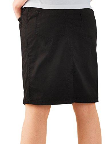 premamá chri plástico–knielanger trendiger corte estrecho Rock negro schwarz (black) Talla:38 schwarz (black)