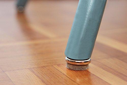 Feltrini Per Sedie Di Metallo : Feltrini per sedie e mobili con vite in acciaio base in