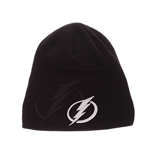 Toque Knit Hat (Tampa Bay Lightning Black