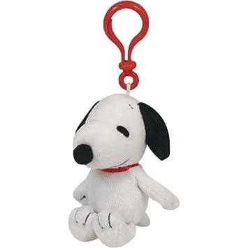 Ty Porte-clé Snoopy en peluche: Amazon.es: Juguetes y juegos