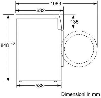 Bosch Lavadora waw28549it Logixx Alemania Drive 9 kg clase A + + + ...