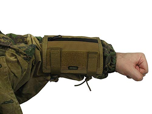 Russian Pouch case for MAP Tactical Papper on arm Tablet Hand (Coyote Brown)