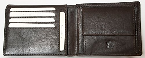 Made Leather Men's Natural of Durable Leather Large Wallet Tillberg Whole Genuine H4H07Swq
