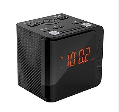 Eight24hours Aluminum 3HP Air Compressor Head Pump Motor 145PSI 11.5CFM with Special Gift Alarm Clock Radio Digital