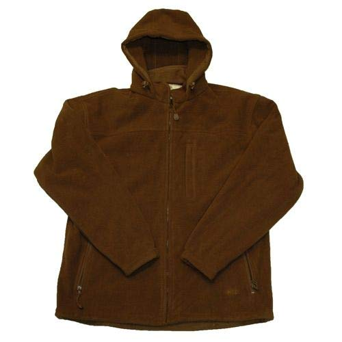 Image of Ammunition & Magazine Pouches Boyt Harness HU219 Fleece Hooded Jacket BRN 2X One Size