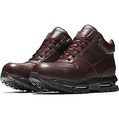 b4f1c57018e79 Nike Mens ACG Air Max Goadome Leather Boots Deep Burgundy Black 865031-604  Size