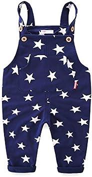 Mud Kingdom Little Boys Overalls Cute Stars Casual Wear