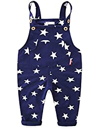 Little Boys Overalls Casual Star