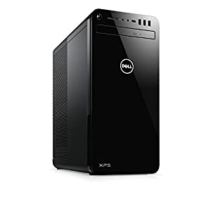 Dell XPS 8930 Tower Desktop - 8th Gen. Intel Core i7-8700 6-Core Up To 4.60 GHz, 16GB DDR4 Memory, 2TB SATA Hard Drive, 4GB Nvidia GeForce GTX 1050Ti, DVD Burner, Windows 10, Black