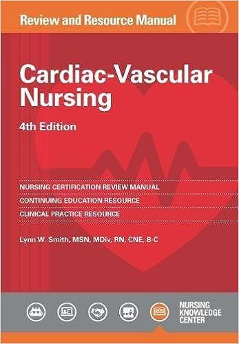 Amazon.com: Cardiac-Vascular Nursing Review and Resource ...