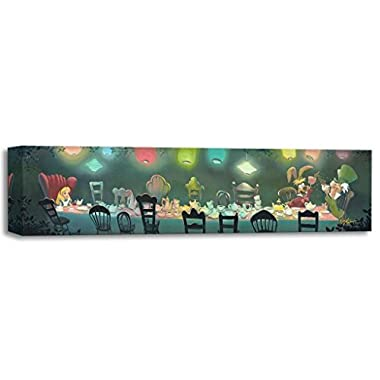 A Mad Tea Party - Treasures on Canvas - Disney Alice in Wonderland Gallery Wrapped Canvas by Rob Kaz