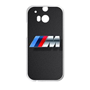 Happy BMW M sign fashion cell phone case for HTC One M8