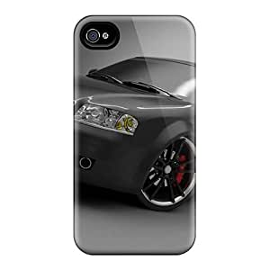 For Iphone 4/4s Fashion Design Audi A6 Tuning Case-UMNMTtv908uCfCX