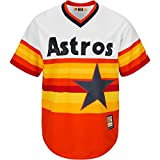 Houston Astros MLB Men's Cool Base Cooperstown Jersey White (3XL)