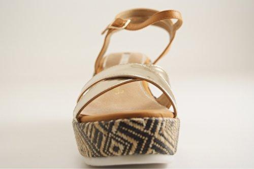 Maria Mare - Zapatos de vestir para mujer Ocre