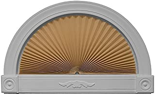 """product image for Redi Shade 3606578, Natural, 72"""" x 36"""" Original Arch Light Filtering Pleated Fabric Shade"""