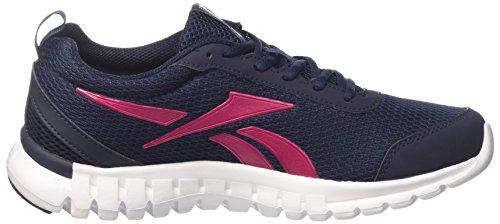 Reebok Sublite Sport, Zapatos para Correr para Mujer Multicolor (Navy/pink/white)