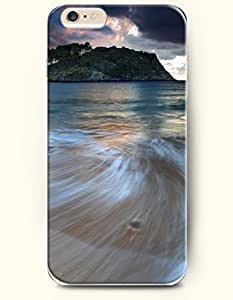 iphone 5s Sea and Beach - Hard Back Plastic Phone Cover SevenArc Authentic