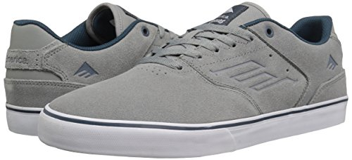 Emerica The Reynolds Low Vulc, Color: Grey/Blue, Size: 47 Eu / 13 Us / 12.5 Uk