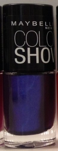 Maybelline Limited Edition Color Goes Electric Collection Color Show Nail Color - 905 Passionate Plum