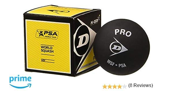 DUNLOP 700108 Bolas de Squash, Unisex: Amazon.es: Deportes y aire ...