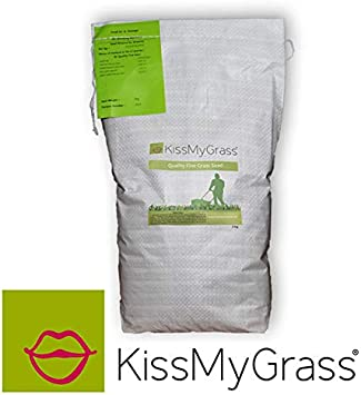 1 x 2kg Suitable for Areas with Sun or Shade Low Maintenance Grass Seed Mow Less -Drought Tolerant Slow Growing Lawn Seed