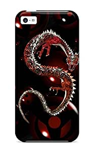 6185814K75372042 Sanp On Case Cover Protector For ipod touch4 (dragon)
