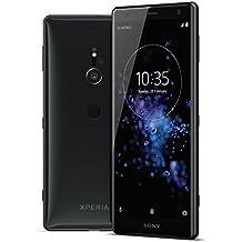 "Sony Xperia XZ2 Unlocked Smarphone - Dual SIM - 5.7"" Screen - 64GB - Liquid Black (US Warranty)"