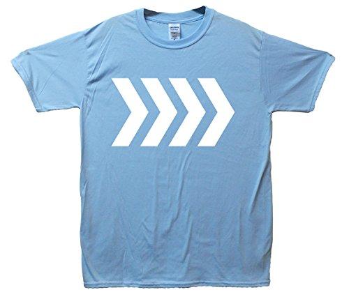 Roundabout Arrows T-Shirt - SkyBlau - Small (86cm-91cm)