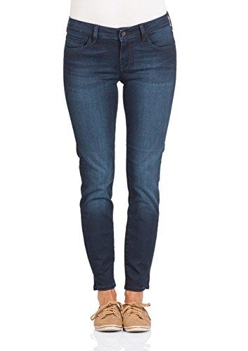 Mavi Adriana Ankle - Jeans - Slim - Femme Bleu (Midnight Tribeca 22303)