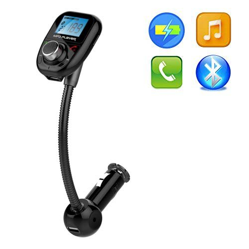 Univeral Bluetooth Wireless Car MP3 Player FM Transmitter Mo