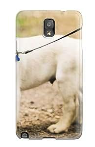 Tpu Case Cover Compatible For Galaxy Note 3/ Hot Case/ Labrador Retriever Puppies