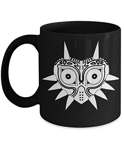 Majora's Mask (B) - By: Trinkets & Novelty This 11-oz Nin...