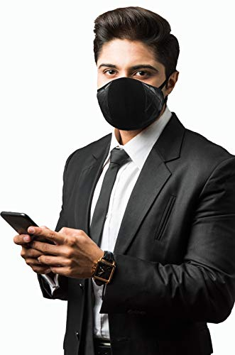 F Gear Luxur Small F95 Mask Diamond Black Pack of 1 Safeguard 7 layer ISO CE SITRA lab certified >95% Bacteria Filtration (B08C2T6TF1) Amazon Price History, Amazon Price Tracker