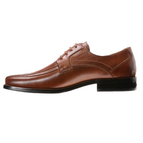 Stacy Adams Corrado Hommes Orteil Carré Cuir Oxford Cognac Buffle