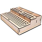Wooden Tooling Case Holder Tandy Leather Deluxe Wood Tool Rack Item #32401-00