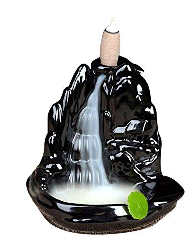GAMT Creative Ceramic Backflow Incense Cone Burner Style 4 (Incense Burner Pot)