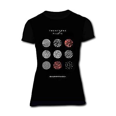 Women's Shirts 21 Blurry-face Pilot Womens Short Sleeve Tee Shirt Girls T-Shirts Top