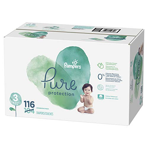 Pampers Pampers Pure Protection Diapers Size 3 116 Count (Old Version)